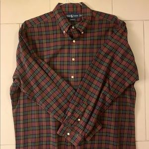 Ralph Lauren button down shirt for men sz. L
